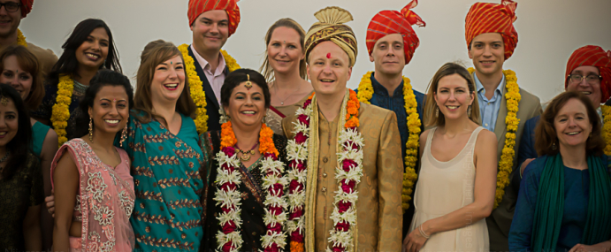 Nina and Jake's Destination wedding in Fatehgarh, Udaipur, Rajasthan