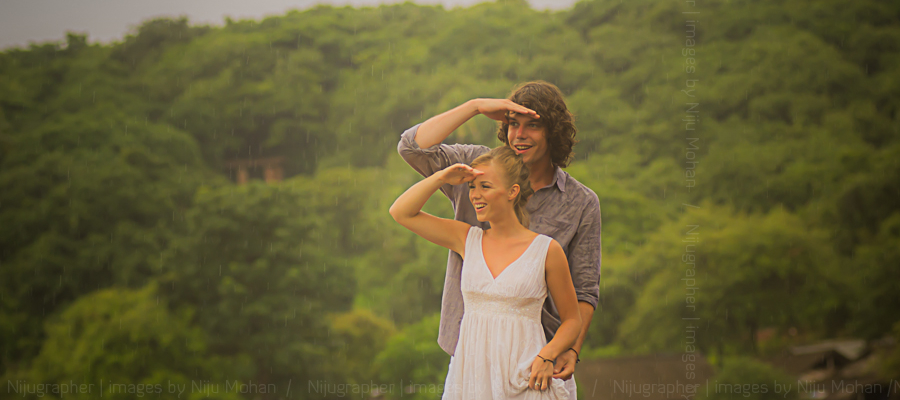 Luke and Sanne in Goa