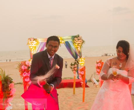 Abhishek and Swapnalee's Destination wedding in Goa